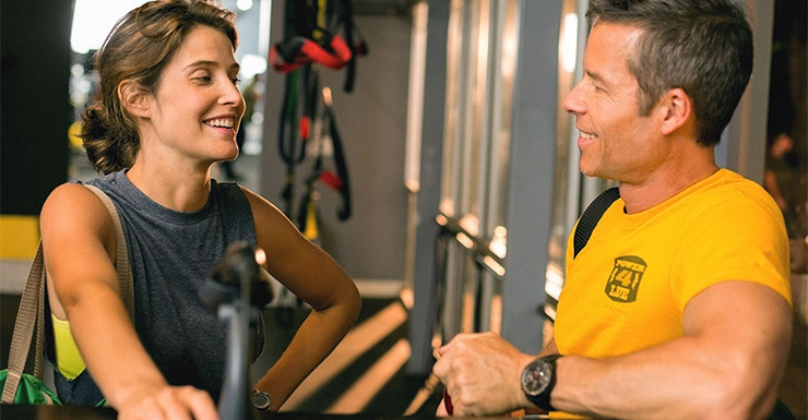 Guy Pearce and Cobie Smulders in