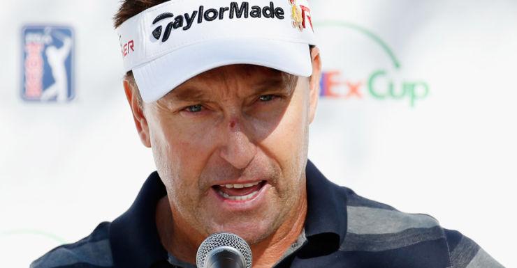 Golfer Robert Allenby