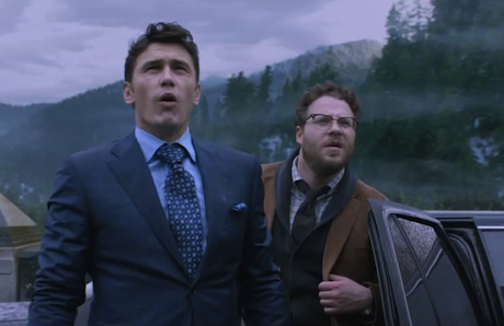 James Franco and Seth Rogen in The Interview.