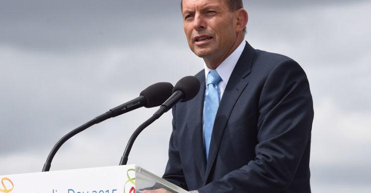 Australia Day Tony Abbott