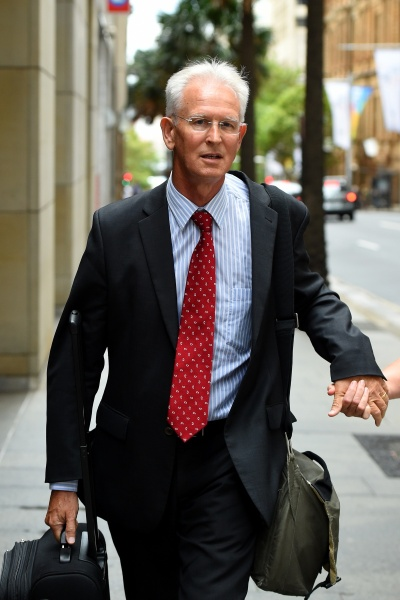 Peter Crawley, former Headmaster gave evidence at the Royal Commission. Photo AAP