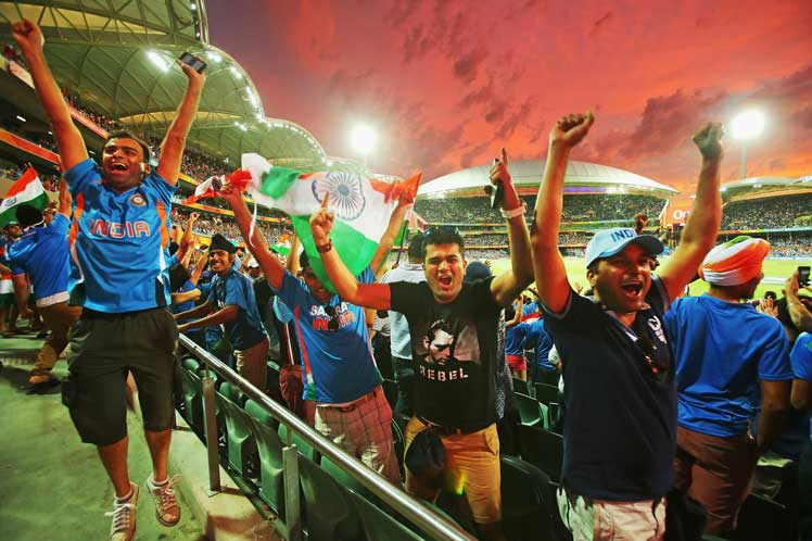 Adelaide became Mumbai for a night. Photo: Getty