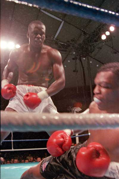 Buster Douglas shocks the world. Photo: AAP