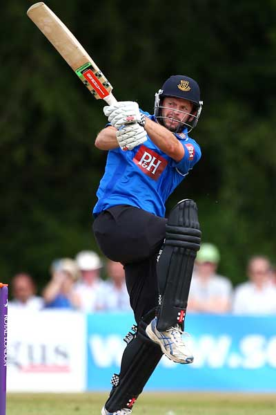 Ireland's Ed Joyce in action for Sussex. Photo: Getty