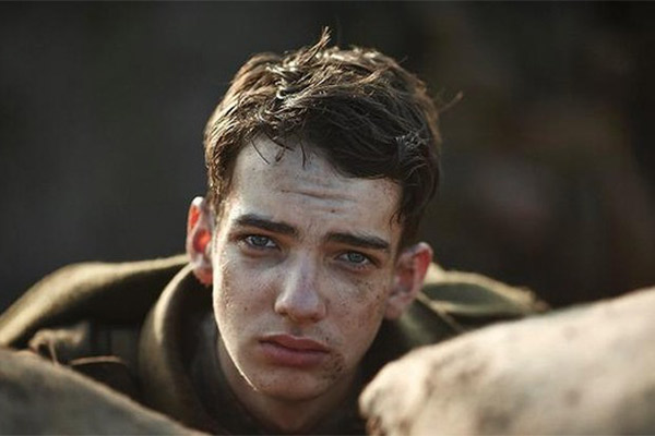 Kodi Smit-McPhee in the acclaimed series Gallipoli.