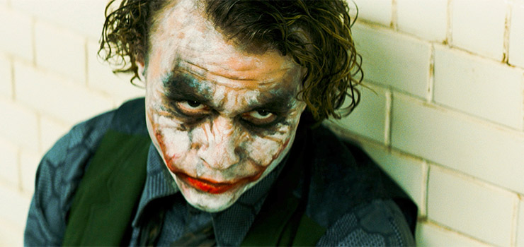 Heath Ledger gave one of the greatest performances of all time in The Dark Knight, winning a posthumous Oscar in 2009.