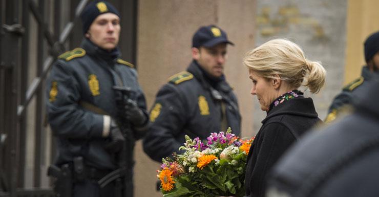 Copenhagen Vigil For Shooting Victims