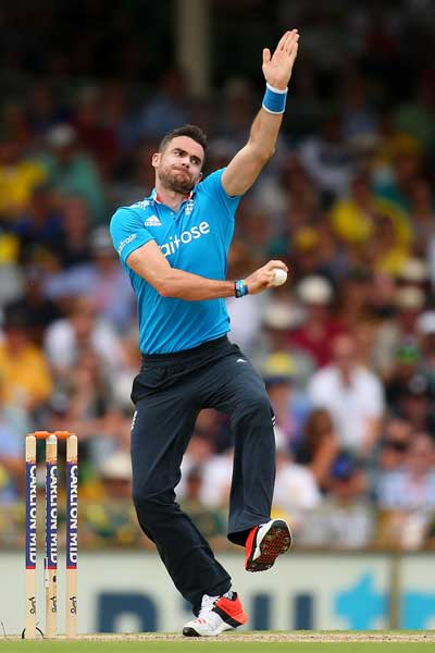 James Anderson's form is crucial to England's chances. Photo: Getty