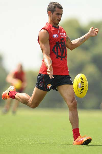 Jeff Garlett has swapped Carlton for Melbourne. Photo: Getty