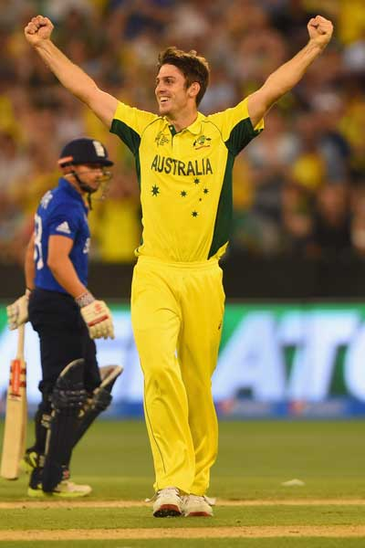 Mitch Marsh snared five wickets for the winners. Photo: Getty