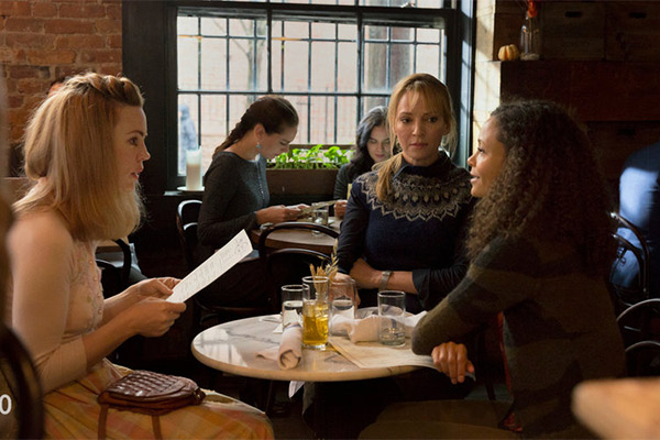 Melissa George, Uma Thurman and Thandie Newton in The Slap. Photo: NBC