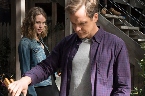 Alexander Skarsgard is Hector in the US remake. Photo: NBC