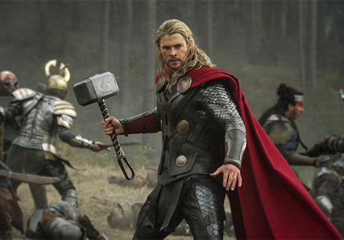 Chris Hemsworth's Thor will be available to stream from the first month of service.