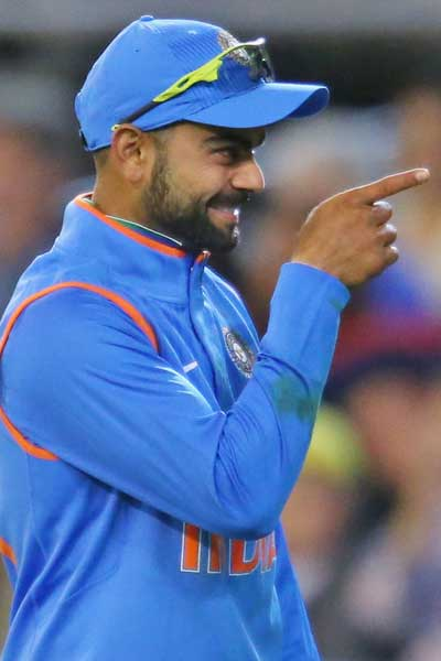 Classy Indian batsman Virat Kohli. Photo: Getty