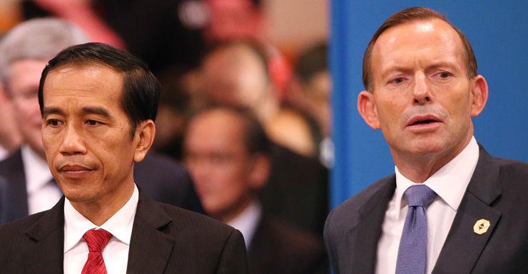Joko Widodo Tony Abbott