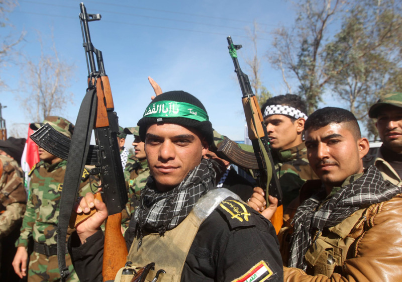 Islamic State Iraq shiite fighter AAP