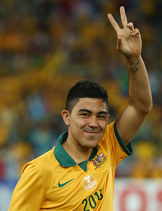 Massimo Luongo is the new face of Australian football. Photo: Getty