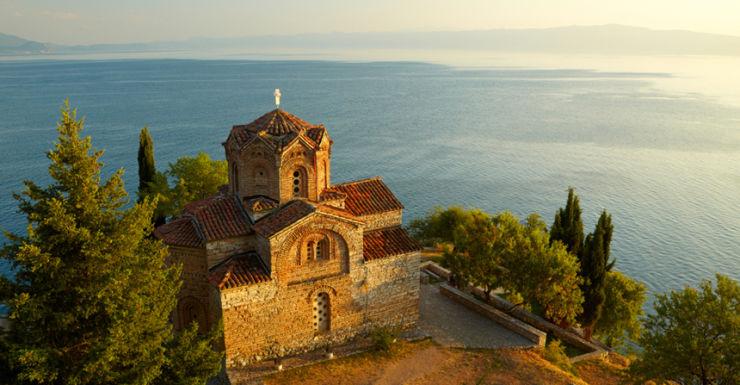 church of st john at kaneo macedonia
