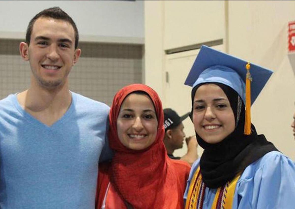 Deah Shaddy Barakat Yusor Abu-Salha Razan Abu-Salha