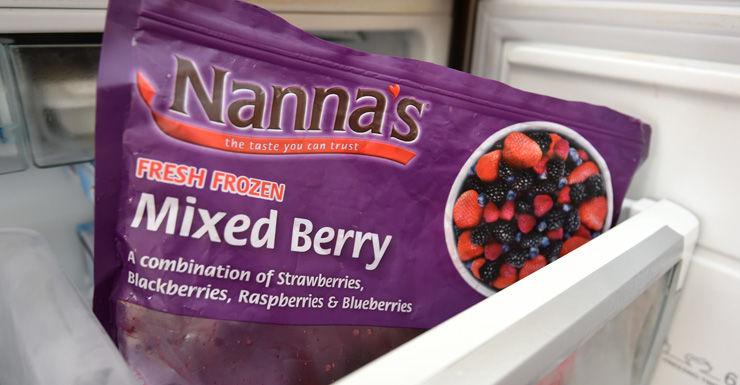 frozen berries AAP