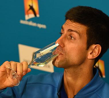 Prima donna? Novak Djokovic repeatedly came back from adversity to taste success. Photo: Getty