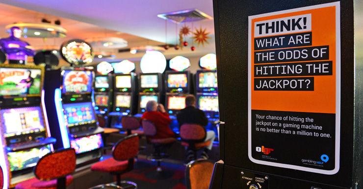 Poker machines Getty