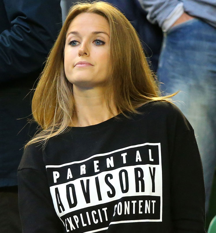 Kim Sears and the 'topical top' she wore at Sunday night's final.