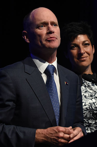 Campbell Newman concedes defeat in the seat of Ashgrove. Photo: AAP