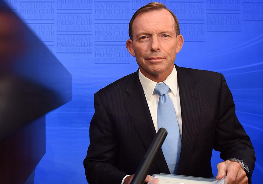 Australian Prime Minister Tony Abbot