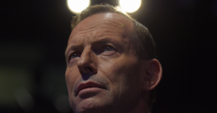 Tony Abbott AAP