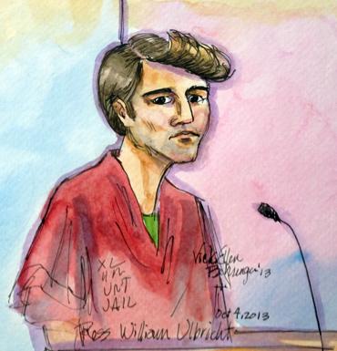 Ulbricht court sketch