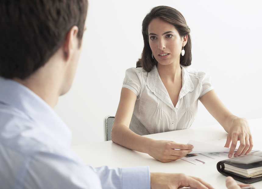 Women office worker