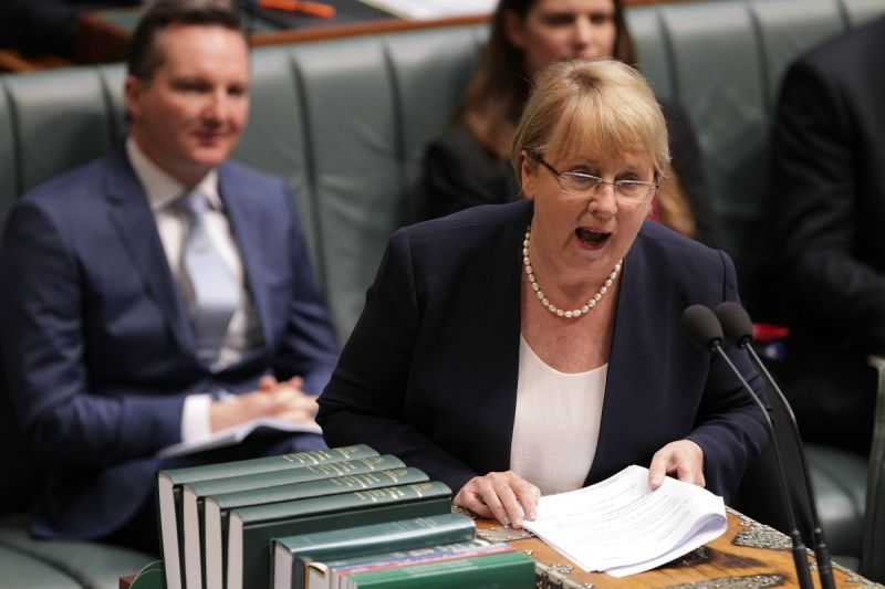Shadow Minister for Disability Reform Jenny Macklin disputes the budget