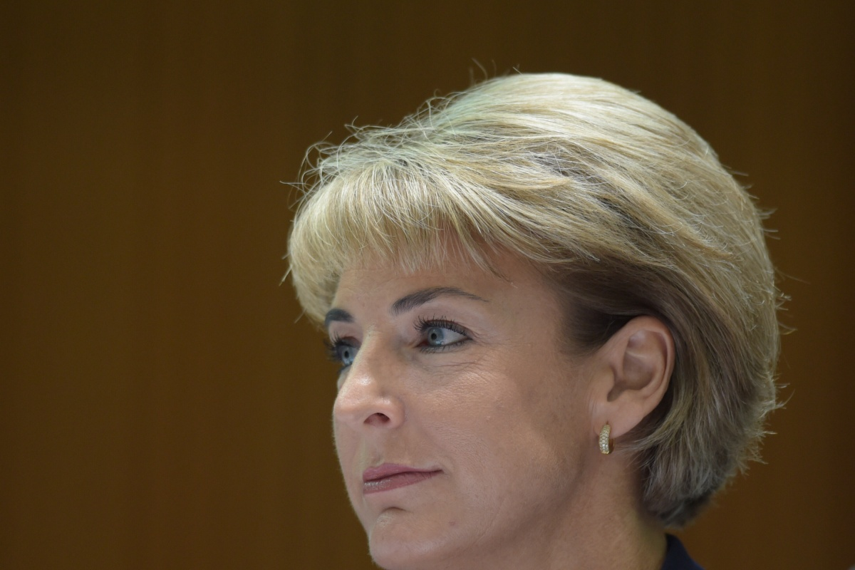 Minister Assisting the Prime Minister for Women, Michaelia Cash