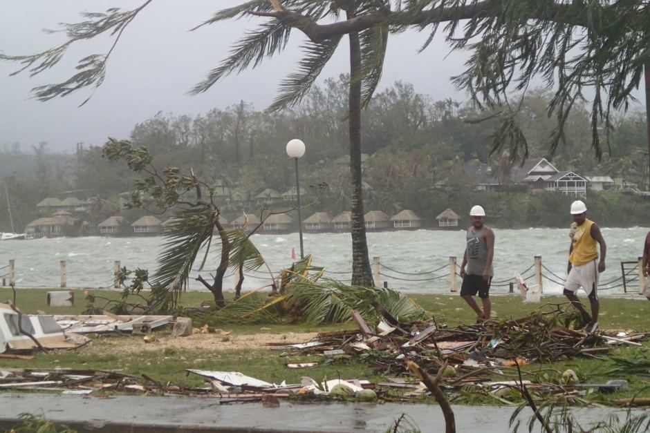 tropical cyclone pam has causes destruction across the pacific