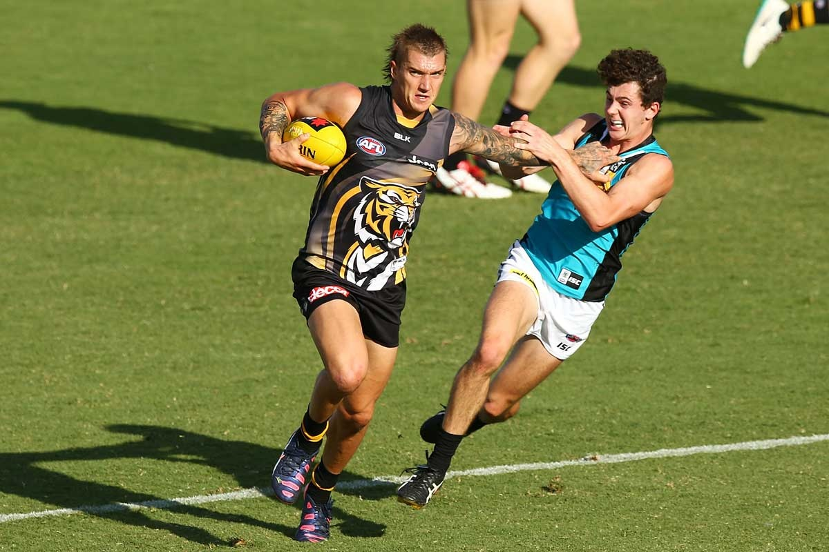 Martin Stars As Tigers Hammer Port The New Daily
