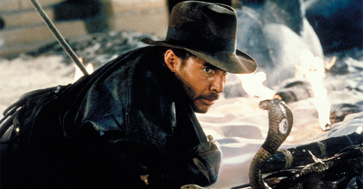 He may hate snakes, but there's no one braver than Indiana Jones.