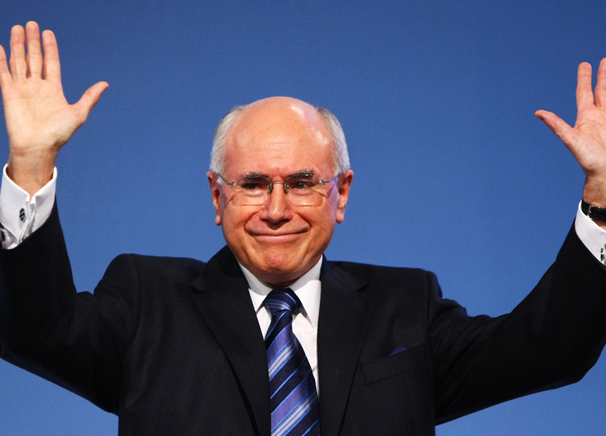 John Howard. Getty