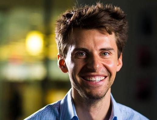 Hinge founder Justin McLeod.