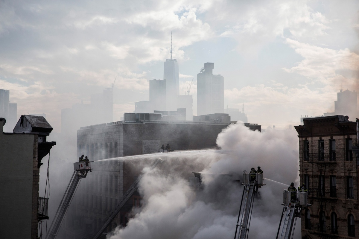 Getty New York apartment fire