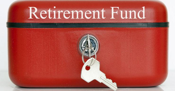 retirement savings box