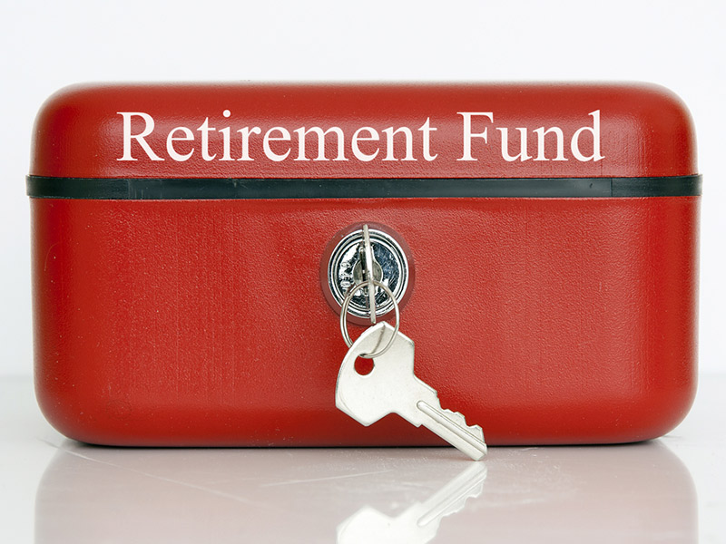 retirement savings box