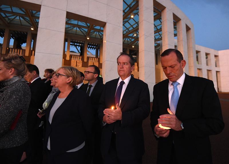 Tony Abbott Bill Shorten