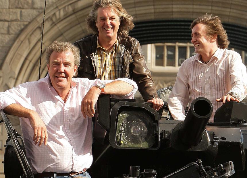 Top Gear Richard Hammond James May Jeremy Clarkson