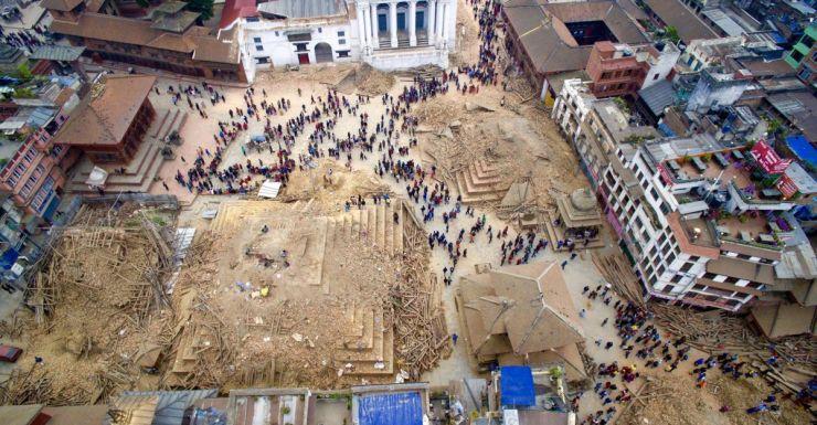 nepal-earthquake Facebook/Kishor Rana