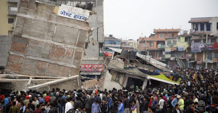 AAP Nepal earthquake 2015