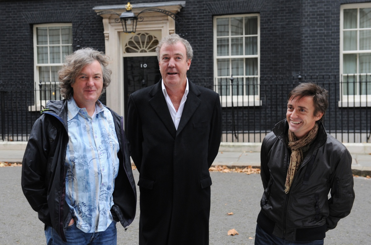 The Top Gear trio which set a world record for a factual TV show. Photo: BBC.