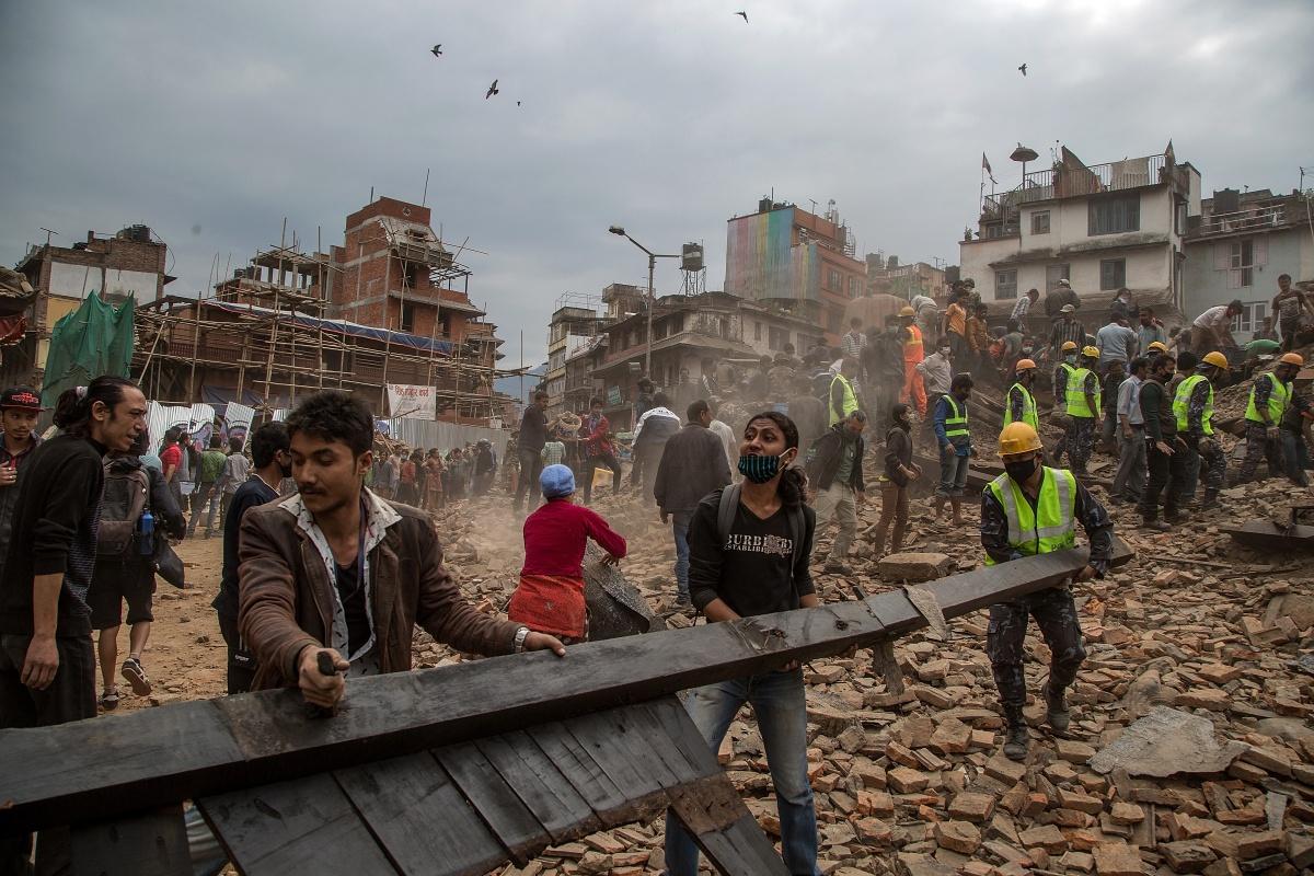 the april 2015 nepal earthquake
