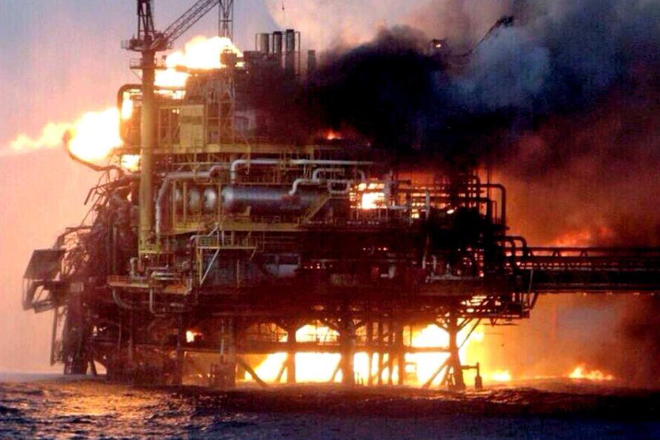 Pemex oil platform fire ABC