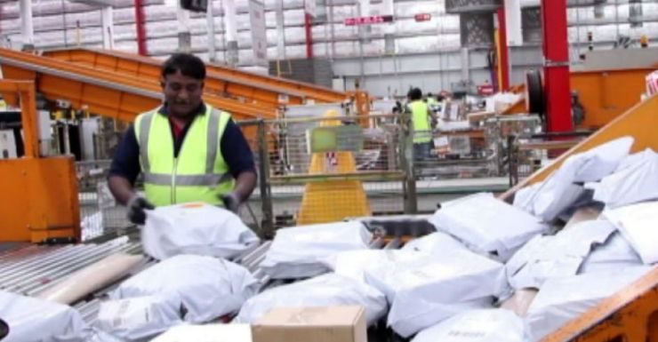 Up to 40,000 parcels are being misdirected every day.